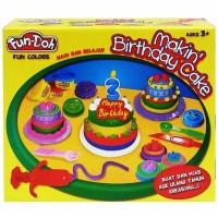 Jual mainan edukasi FUNDOH MAKING BIRTHDAY CAKE Murah