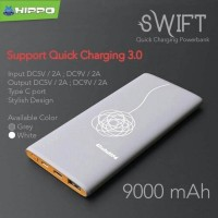 Jual Hippo Power Bank SWIFT 9000 mAh Quick Charging 3.0/Fast Charging Murah