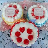 Jual Strawberry Cake Jumbo Squishy Cute Slow & Soft Mainan Anak Murah