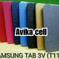 Sarung UME Flipcase Samsung galaxy TAB 3V / T110 / Best Quality