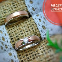 Jual CINCIN PALLADIUM ROSE GOLD (pd126) Murah