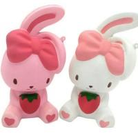 Jual Squishy Rabbit Strawberry / Squishy Kelinci Murah
