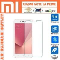 Xiaomi redmi note 5A prime pro tempered glass bening clear layar hp 9H