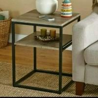 Jual nakas industrial serbaguna meja sudut, meja samping meja spenser Murah