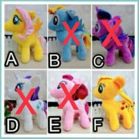 Jual Boneka Rattle My Little Pony L Terbaru Murah