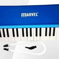 Jual  Pianika Marvel 32 Key Melodica Blue Koper Box T2909 Murah