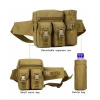 Tas Pinggang Army Import S 726 - Tas HP Dan Botol Air Minum
