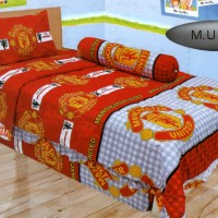 Jual Bedcover Lady Rose Disperse 120 - Manchester United / MU Murah