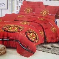 Jual Bedcover Romeo ukuran 180 x 200 / King / No.1 - Manchester United / MU Murah