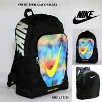 Jual Tas Ransel Nike Kerja Sekolah Pria Nike Court Hitam Galaxy Stabilo Murah