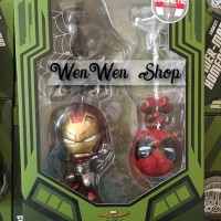 Jual HOT TOYS COSBABY SPIDERMAN HOMECOMING IRON MAN MARK 47 VULTURE SET HT  Murah