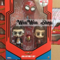 Jual HOT TOYS COSBABY SPIDERMAN HOMECOMING IRON MAN MARK 47 TONY STARK HT Murah