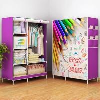 Lemari | Rak Baju Pakaian Plastik Minimalis Murah Back To School