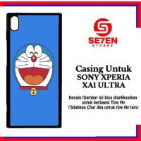 Jual Casing XPERIA XA1 ULTRA doraemon face Custom Hard Case Murah