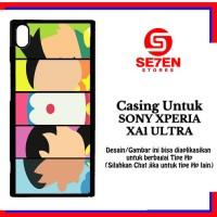 Jual Casing XPERIA XA1 ULTRA doraemon face 2 Custom Hard Case Murah
