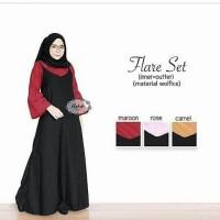 Jual L6611 Overall Wanita  Dress  Flare Set Include KODE PL6611 Murah