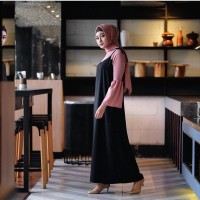 Jual L6620 Overall Wanita  Dress  Zahira Set Serian KODE PL6620 Murah