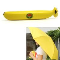 Jual  Payung Imut Bentuk Pisang  Creative Banana Umbrella UV Prote T0210 Murah