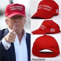 Jual G- Topi trucker cap hat Donald Trump Make America Great Again Murah
