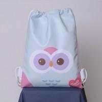Jual Tas Serut / Tuscany Stringbag Owl FD Murah