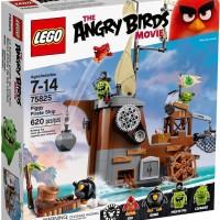 Jual LEGO 75825 - The Angry Bird Movie - Piggy Pirate Ship  Murah