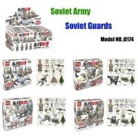 Doll D 174 WW2 The Battle Moscow Custom Guard Husky Military