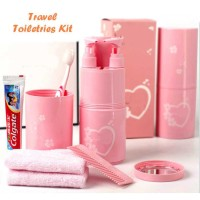 Travel Toiletries Kit | Alat Mandi, Organizer, Simple, Wadah, Bath3