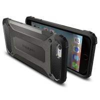 Original Spigen Iphone 6 6S Plus Case Tough Armor Tech Gun Metal 08ed4101d1