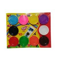 Jual Fun Doh Refill 10pcs Lilin Mainan Edukasi Anak Murah  Murah