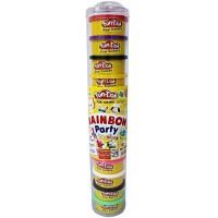 Jual Mainan Lilin Fun Doh Rainbow isi 12 / Refill Fun Doh  Murah