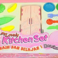 Jual Fun doh my lovely kitchen set sejenis play doh  Murah