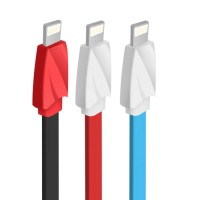 Jual Kabel Data Vivan CTL100 Iphone 5,6,7,6+,7+ /Mini Tube Cable 100CM/2.  Murah