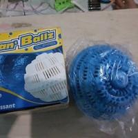 Jual Termurah Clean Ballz Laundry Ball Hemat Sabun Cuci( biru) Murah