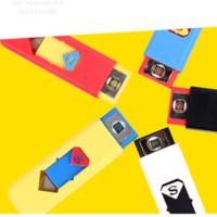 Jual (Dijamin) Korek Elektrik USB Electric Lighter Rechargeable Superman Pe Murah