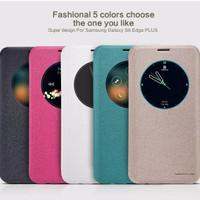 Jual Baru Flip Case Nillkin Samsung Galaxy S6 Edge Plus Sparkle Series Murah