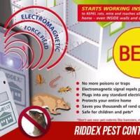 Jual RIDDEX Alat Pengusir Serangga Dan Tikus Elektrik Murah