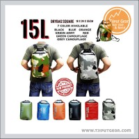 Jual TAS RANSEL BACKPACK  WATERPROOF ANTI AIR DRYBAG DRY BAG NATURE 15 L  Murah