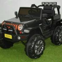 mobil mainan anak aki 905 jeep rubicon Pakai Remote Control Elektrik