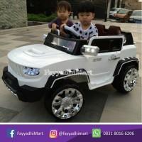 mobil mobilan anak mainan aki jeep pakai remote control like hummer
