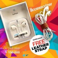 Jual Original Earphone Apple EarPods Headset iPhone 5 5s 6 6s Murah