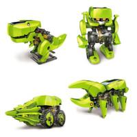Jual PROMO 4 in 1 Transforming Solar Robot Science & Education DIY Toys Kid Murah