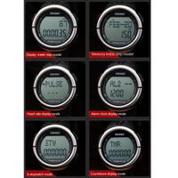 Jual Promo ! SKMEI Watch Pedometer Heart Rate (Detak Jantung) Water Resist  Murah