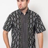 Batik Trusmi Hem Songket Motif Meander