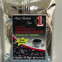 Harga kopi bubuk cap 1 250 gram asli bangka dari toko | Hargalu.com