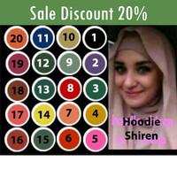 Jual Hoodie Shireen Godir Hijab Murah