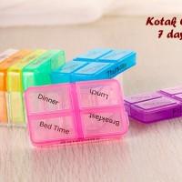 Jual DAPATKAN PRODUK TERHEBOH Kotak Obat 7 Days Terdiri dari 7 kotak utk p Murah