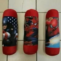 Jual spesial Guling Spiderman Capt America Cars Baymax big hero Murah