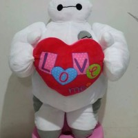 Jual hot Boneka Baymax Big Hero 6 Love Murah