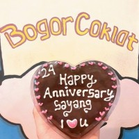 coklat Blok Love / coklat ucapan / coklat anniversary