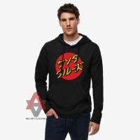 Jual Jaket Sweater Hoodie Santa Cruz - Hitam - Al-Ayubi Clothin  Murah